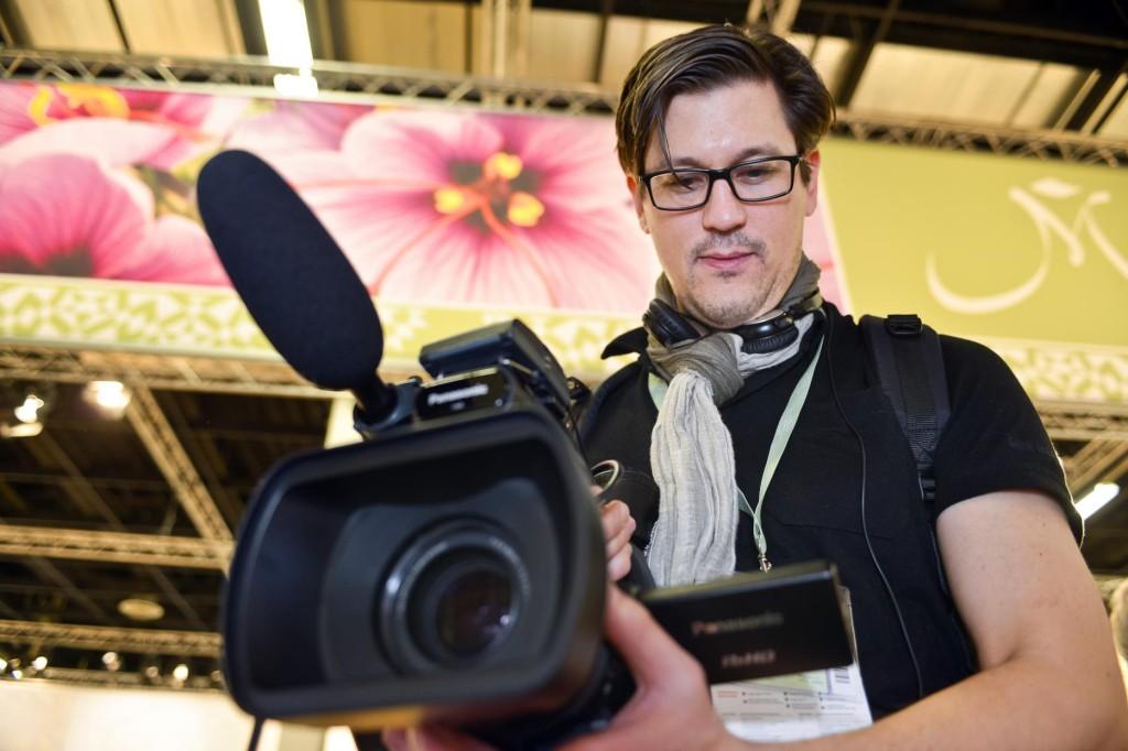 Roman mit Kamera